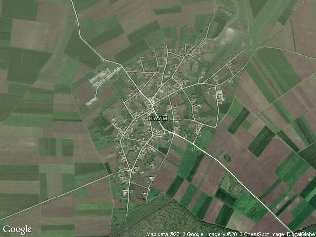 Сателитна карта на Наум