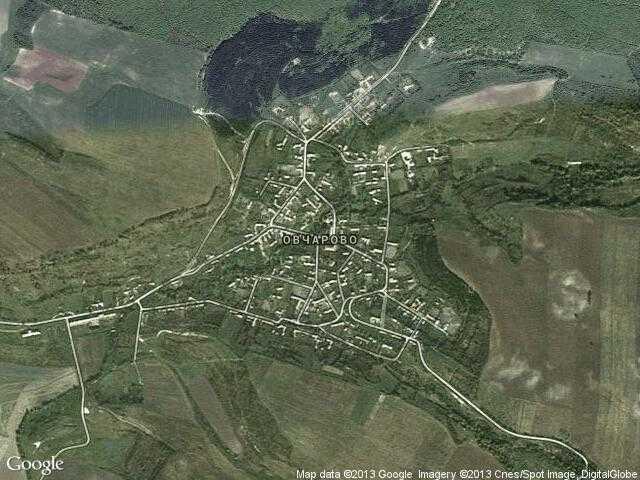 Сателитна карта на Овчарово