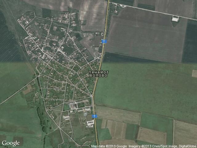 Сателитна карта на Панайот Волово