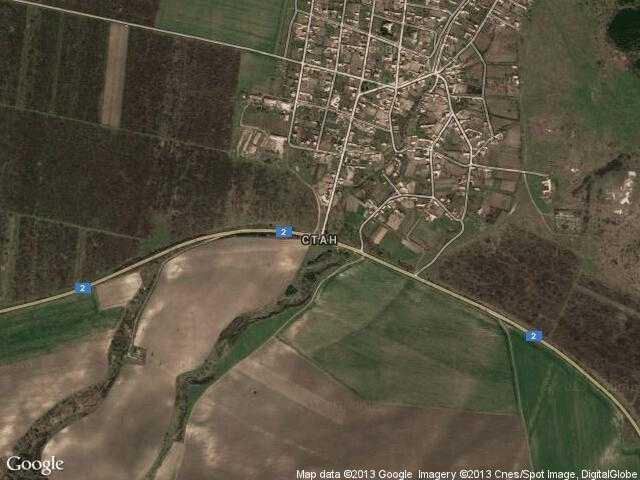 Сателитна карта на Стан