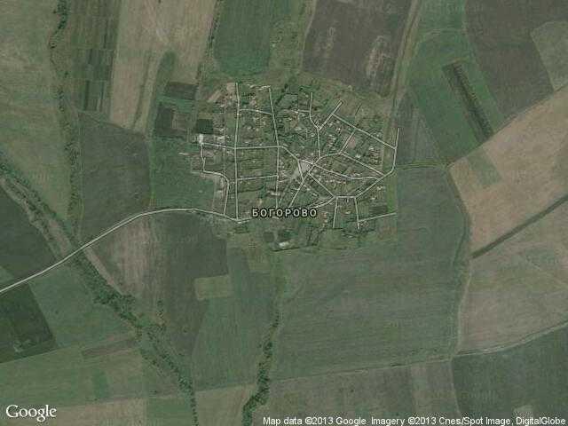 Сателитна карта на Богорово