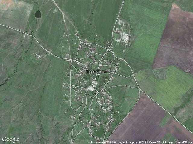 Сателитна карта на Шарково